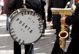La Puerta's local town band